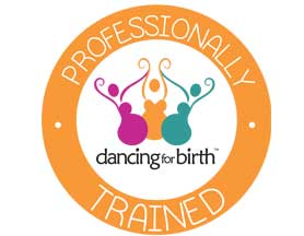 dancing for birth logo