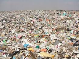 diapers in landfill