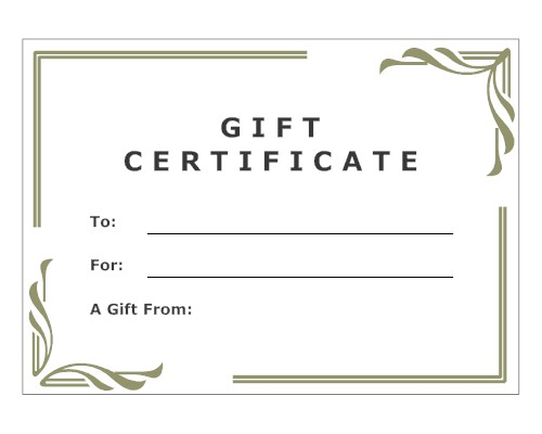 Gift certificate labor of love doula childbirth for Make your own gift certificate template