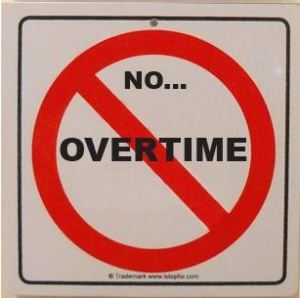 No-overtime