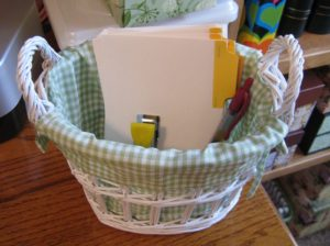 Story Cards Basket